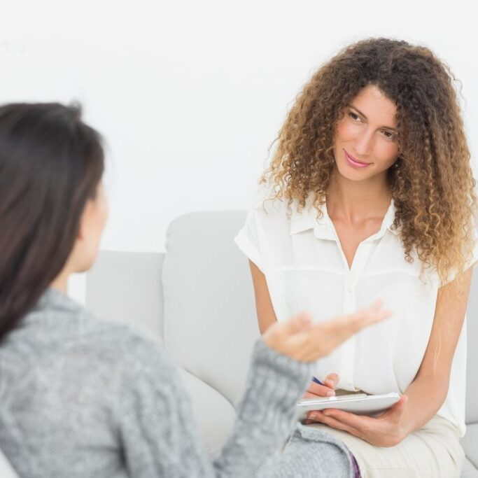 Therapist client