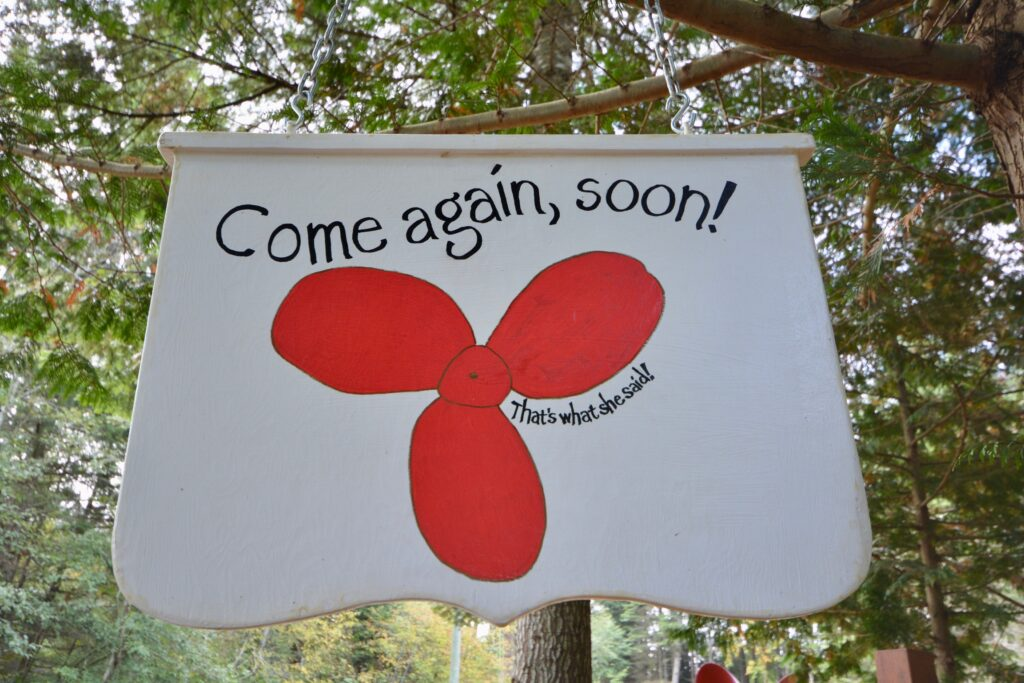 Come Again Soon!