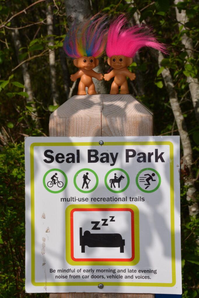 Seal Bay Park, buddies