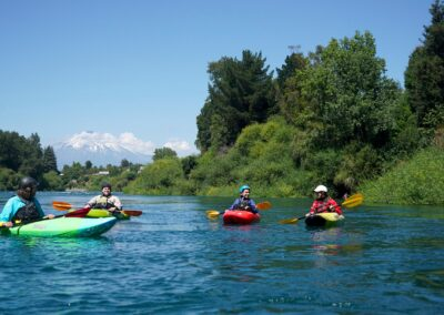 Chile Kayaking Trancura River Delta