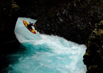 Chile kayaking Fuy Canyon