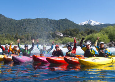 Kayaking Group in Chile