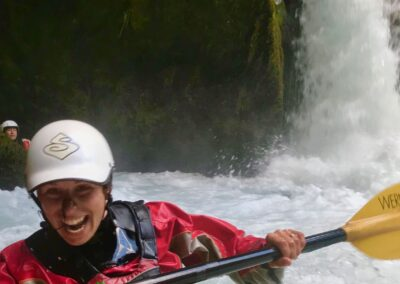 kayaking chile waterfalls palguin