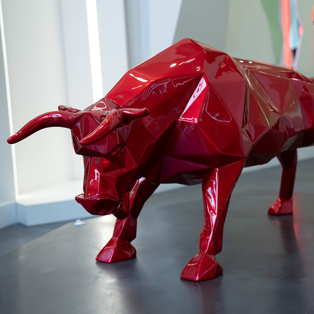 red-flame-bull-richard-orlinski
