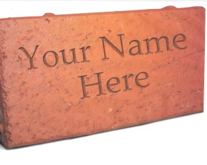 brick with your name