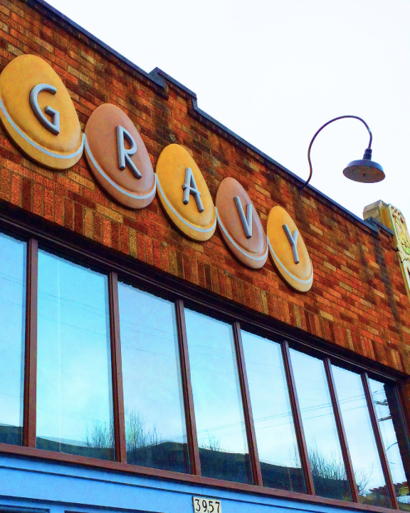 Gravy Restaurant Portland Facade