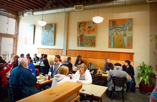 Gravy Restaurant People Eating