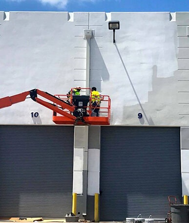 exterior commercial painting Dallas, TX