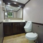 LUXURY 2 STATION RESTROOM TRAILERS