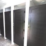 EVEREST RESTROOM TRAILER CLOSED STALL DOORS