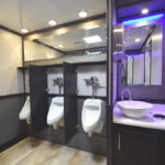 LUXURY RESTROOM TRAILER WITH URINALS