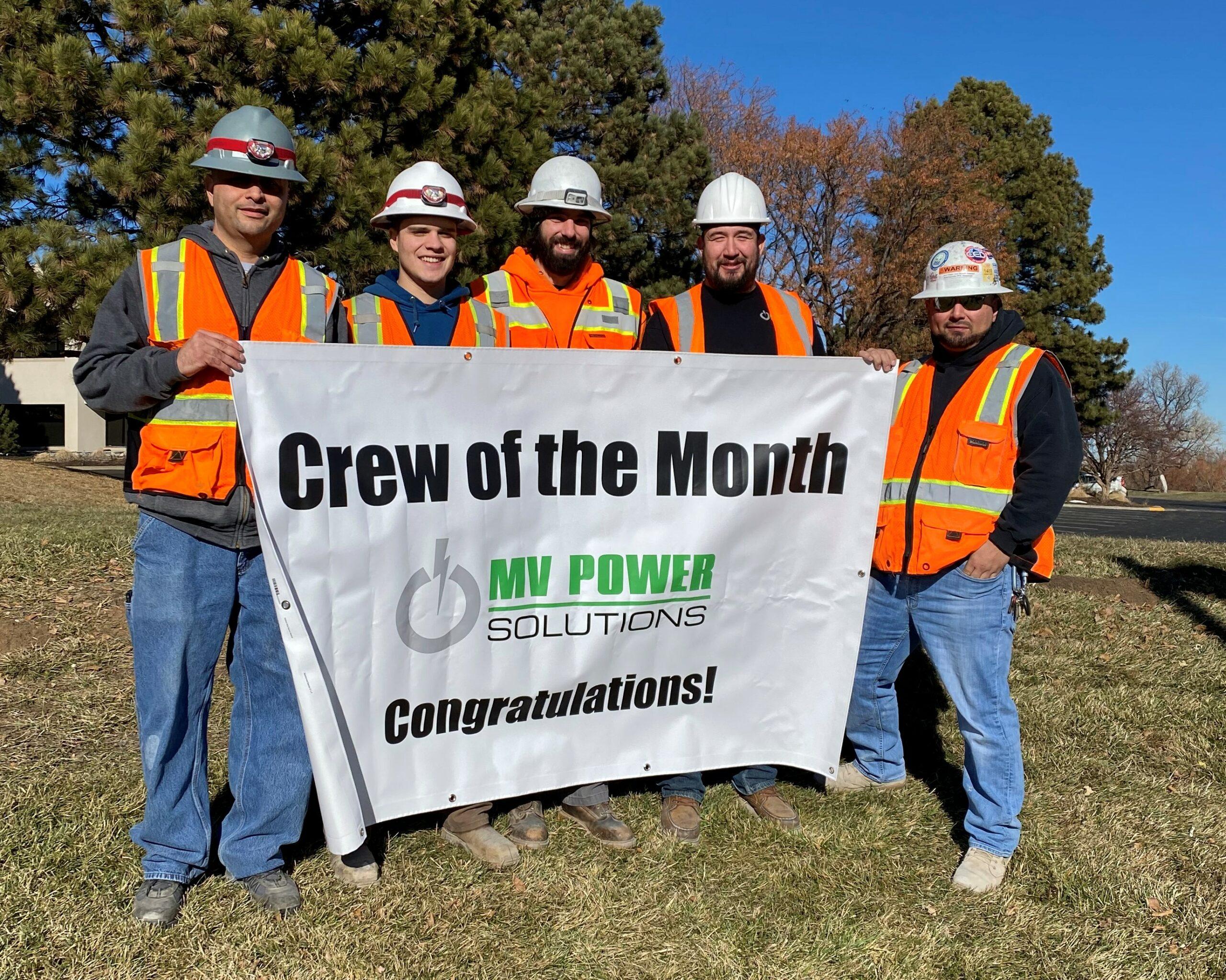 Crew of the Month – Dec 2019