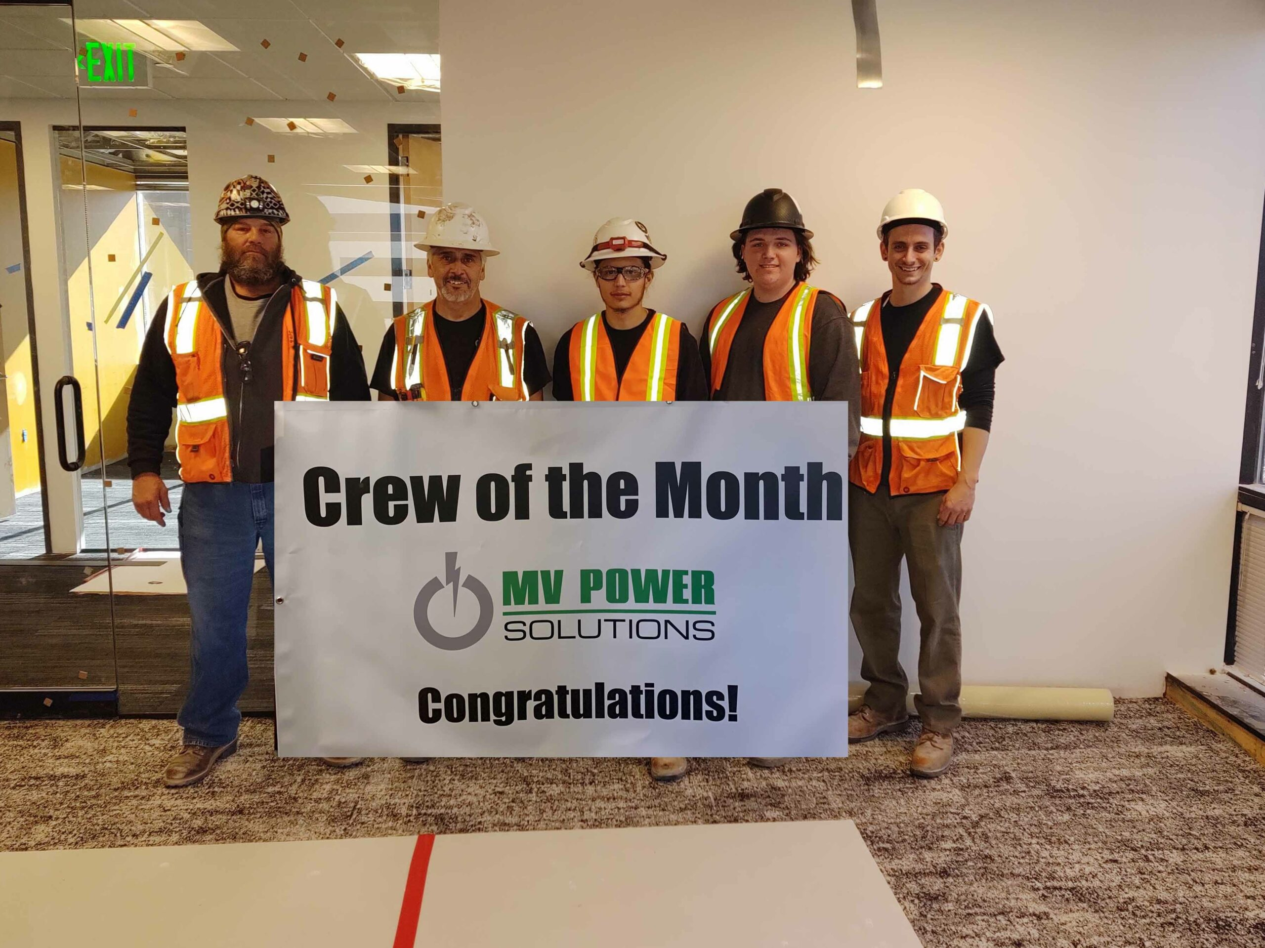 Crew of the Month- January