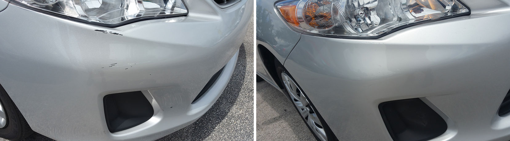 Toyota-Paint-Scratches and chips-Repair-Palm-Beach-FL