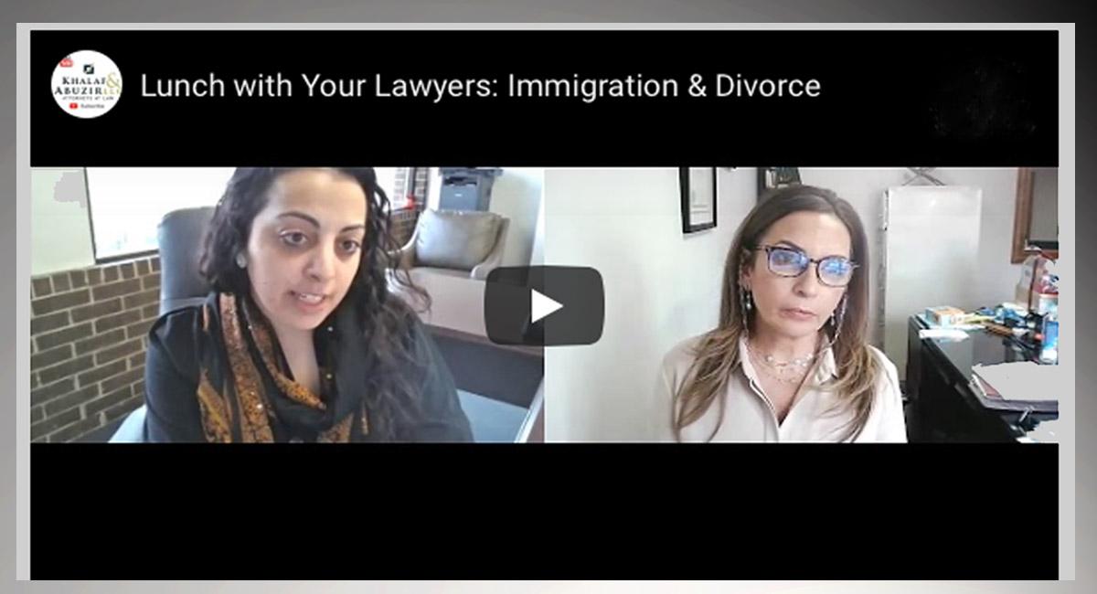 Attorneys Vivian Khalaf & Mervate Mohammed online exclusive discuss immigration and divorce