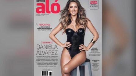 Daniela Alvarez ta sali riba portada di revista Colombiano, inspirando miles di persona