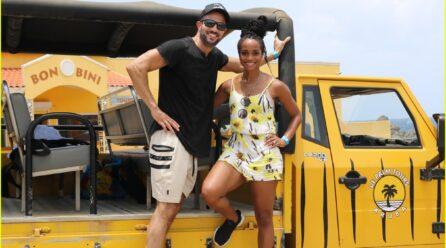 "Rachel & Bryan di ""The Bachelorette"" ta pasa nan prome aniversario casa na Aruba"