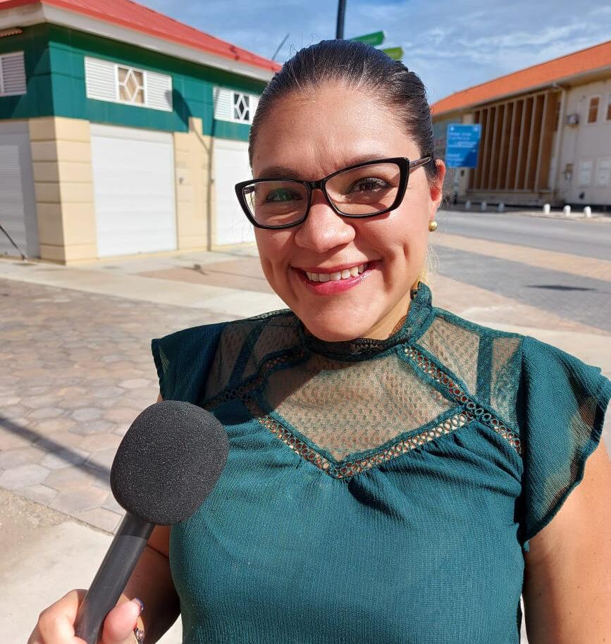 "Andreina Morillo: ""Un sociedad mester ta informa, y mas ainda den tempo di crisis"""