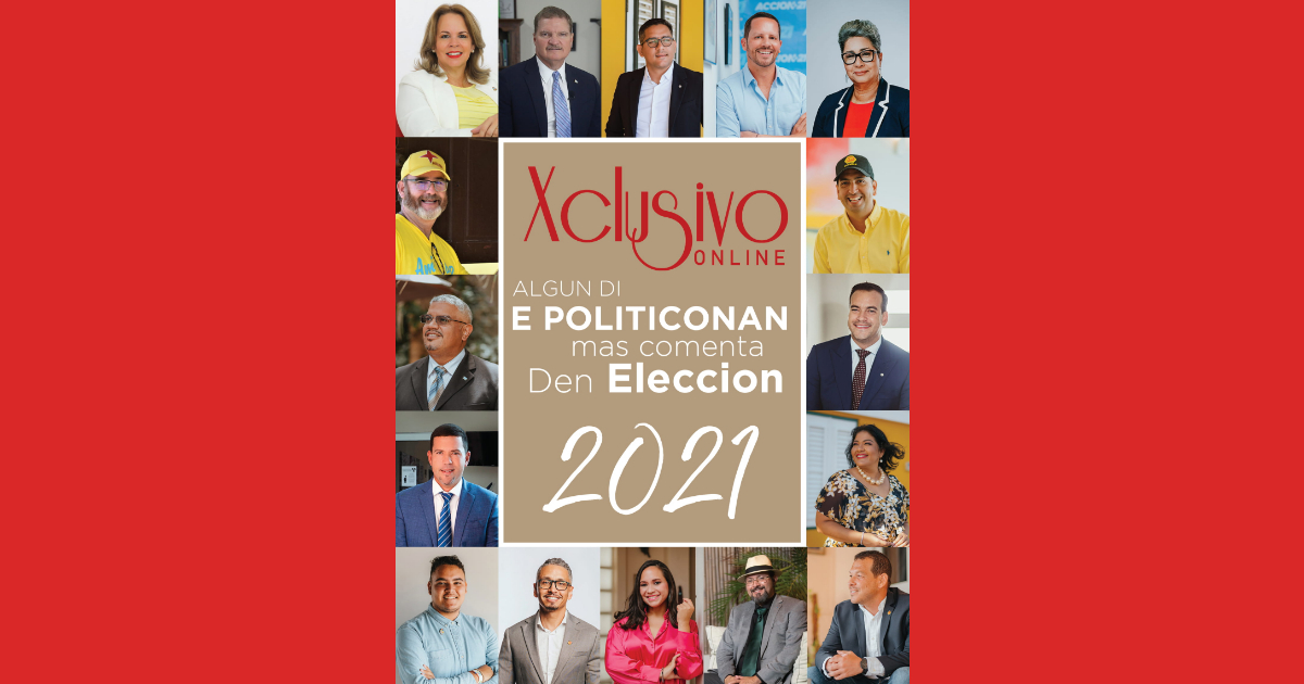 Algun di e politiconan mas comenta den eleccion 2021
