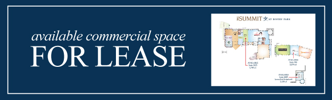 Available commercial space for lease