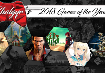 Nick's Games of the Year - 2018