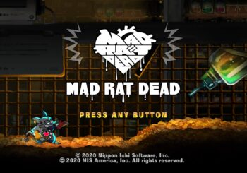 Mad Rat Dead - PS4 Review