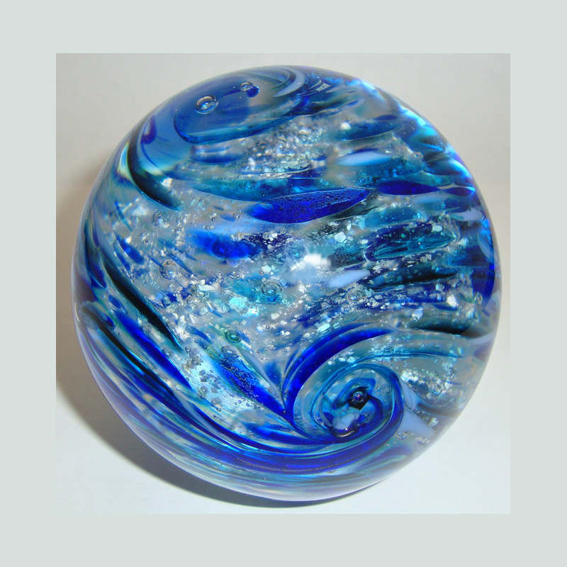 Blown Glass Coastal Dream Orb