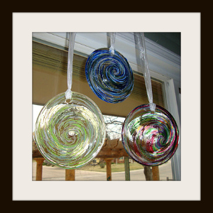Blown Glass Rondels