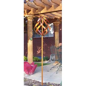Handmade Copper Whirlygig