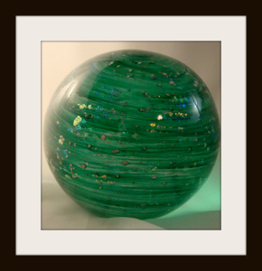 Starry Night Orb with Custom Green Mix