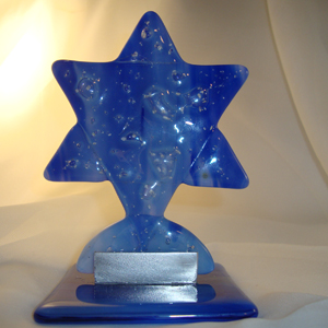 Fused Glass Star