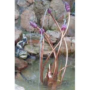 Copper & Glass Fountain