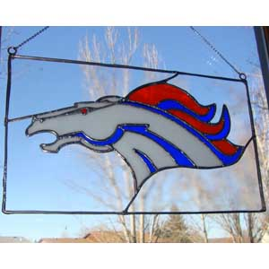 Stained Glass Bronco