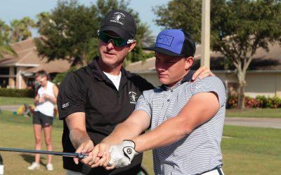 Andy Scott, winner of 2018 Player Development Award, SW Chapter of South Florida PGA