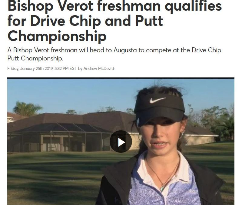 ASSOG Student Competing in Augusta Drive Chip Putt Championship