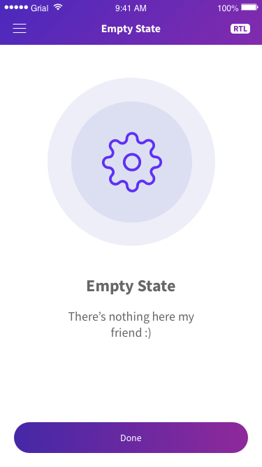 Empty State Page Xamarin.Forms XAML