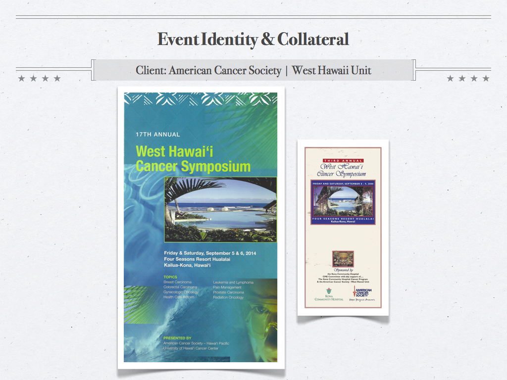 WHCS Event Collateral