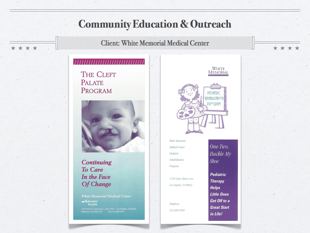 WMMC Brochures