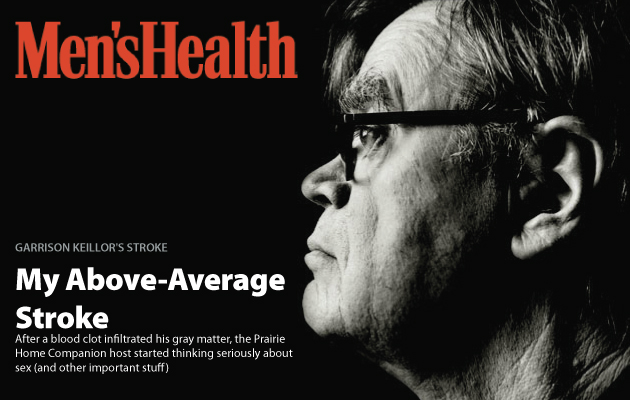 Garrison Keillor's Above-Average Stroke
