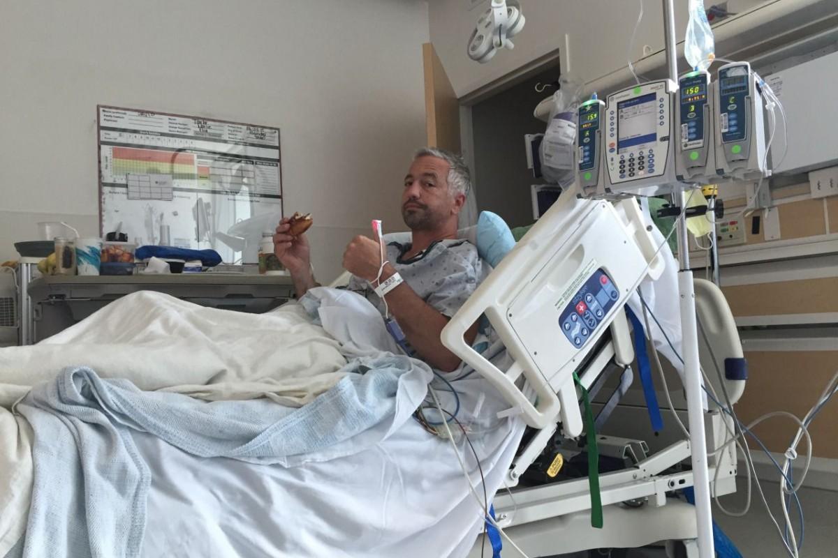 David Williams, MD in Hospital. Image: Courtesy of David Williams