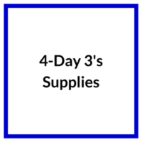 4 Day 3s Supplies
