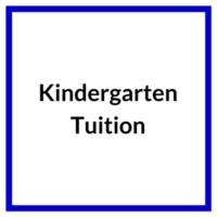 Kindergarten Tuition