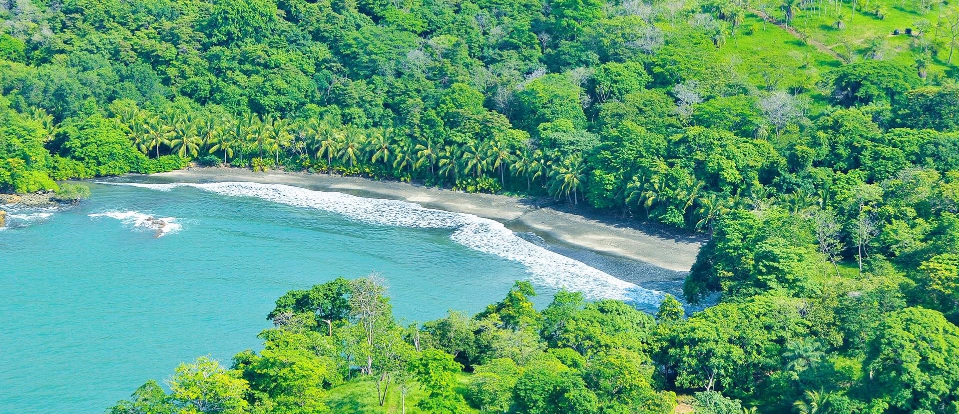 sunny panama beach