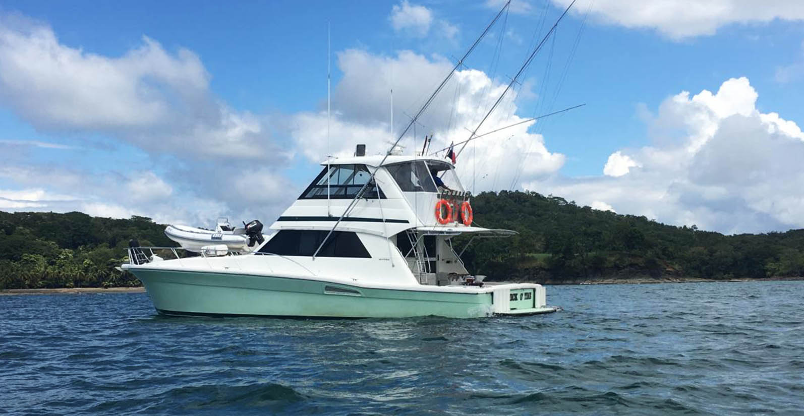 Cala Mia's fishing boat