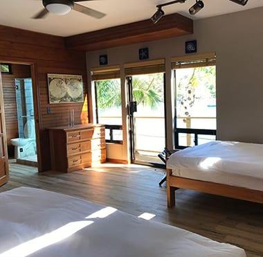 Panama island lodge
