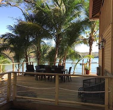 Panama island family lodge