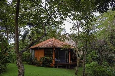 panama island bungalow