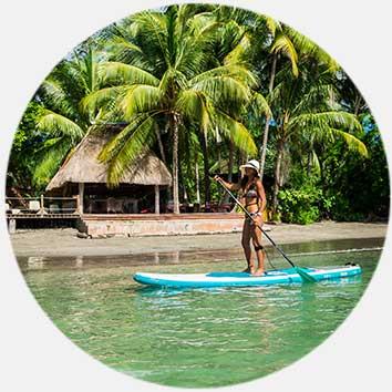 Beach resort Panama