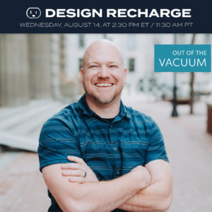 church designer, solo designer, inhouse design, stuck, in a rut, only one in marketing department, utah, capital church, kelly johnson