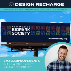 kyle courtright, small improvements, entrepreneurs, branding, logo wave, improving
